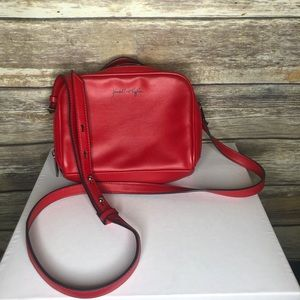 Kendall & Kylie candy apple red crossbody purse